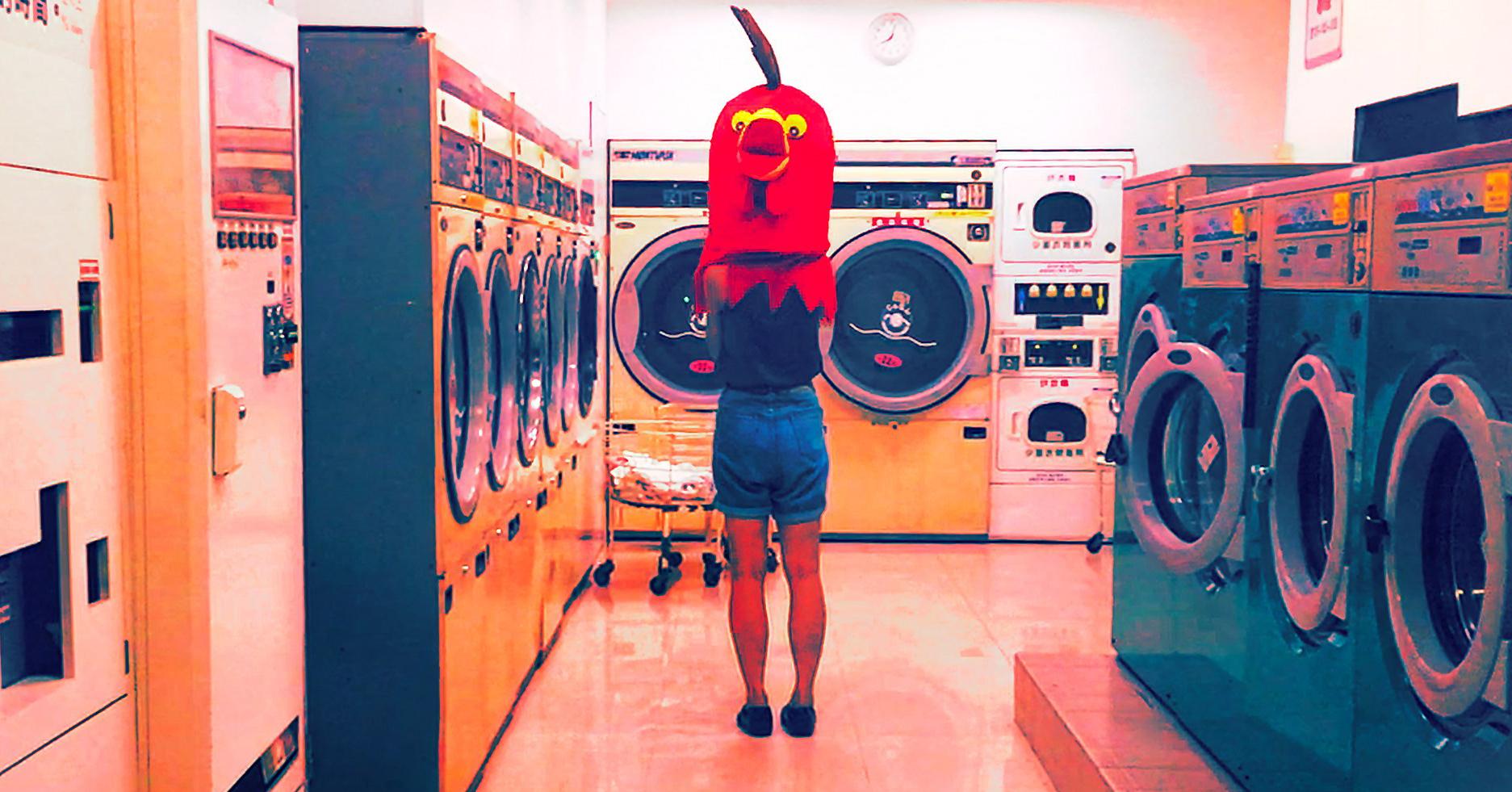 賈茜茹「這是一個在自助洗衣店的故事」:一部懸疑驚悚的愛情故事